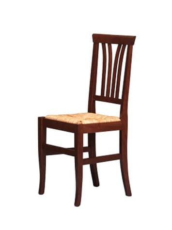 186, Rustikal Stuhl aus Buchenholz, Stroh Sitz, für Bars