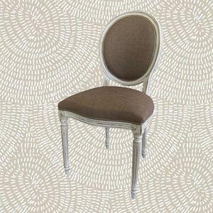 3415 STUHL, Klassischer Stuhl mit runder Rückenlehne