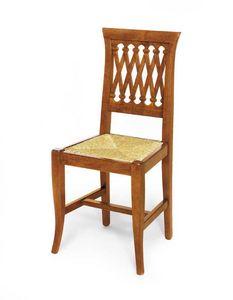 Art. 102, Klassischer Stuhl mit Sitz aus Stroh