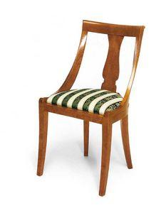 Art. 144, Stuhl im klassischen Stil mit bequemem, gepolstertem Sitz
