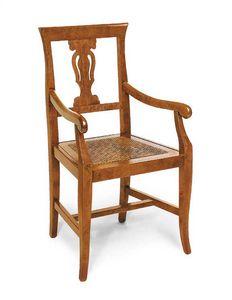 Art.103/A, Stuhl mit Sitz in Wiener Stroh