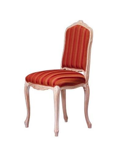 1004, Klassischer Stuhl in gearbeitet Buche, für Stil Hotel