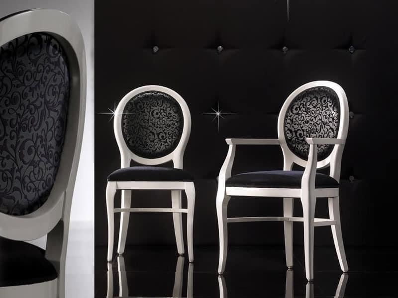 Traditioneller Stuhl mit Armlehnen, anpassbare | IDFdesign