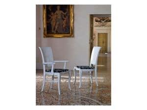 DUNA chair 8340S, Esszimmerstühle Mit Traditionellen Rücken Speisesaal