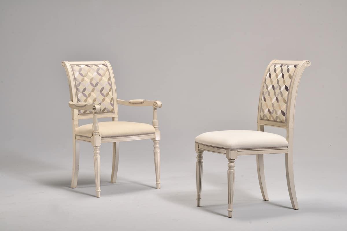 klassischer stuhl gepolstert buche f r historische kaffee idfdesign. Black Bedroom Furniture Sets. Home Design Ideas