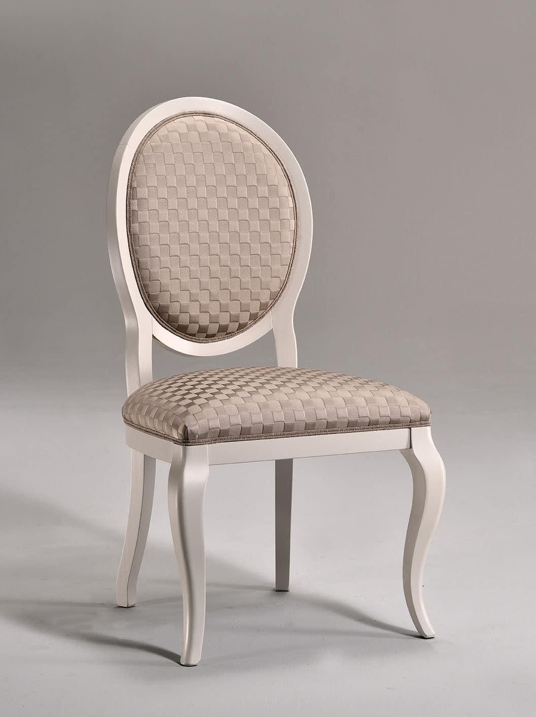 LICA Stuhl 8432S, Esszimmerstuhl, Gepolsterter Sitz, Für Wohnzimmer