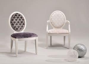 LUNA chair 8269S, Polsterstuhl, anpassbare Beläge und Farben