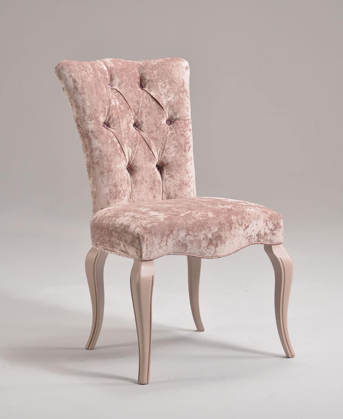 Klassischer Stuhl In Buche Gepolstert Anpassbare Idfdesign