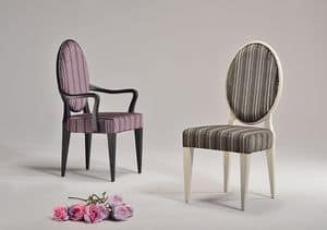 YVONNE stuhl 8615S, Komfortablem Stuhl, rund zurück, für Restaurant