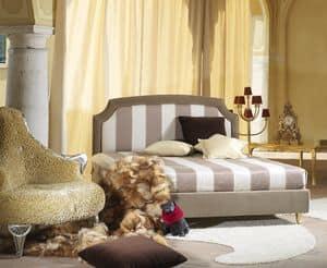 Elisabetta, Gepolsterte Bett, im klassischen Stil