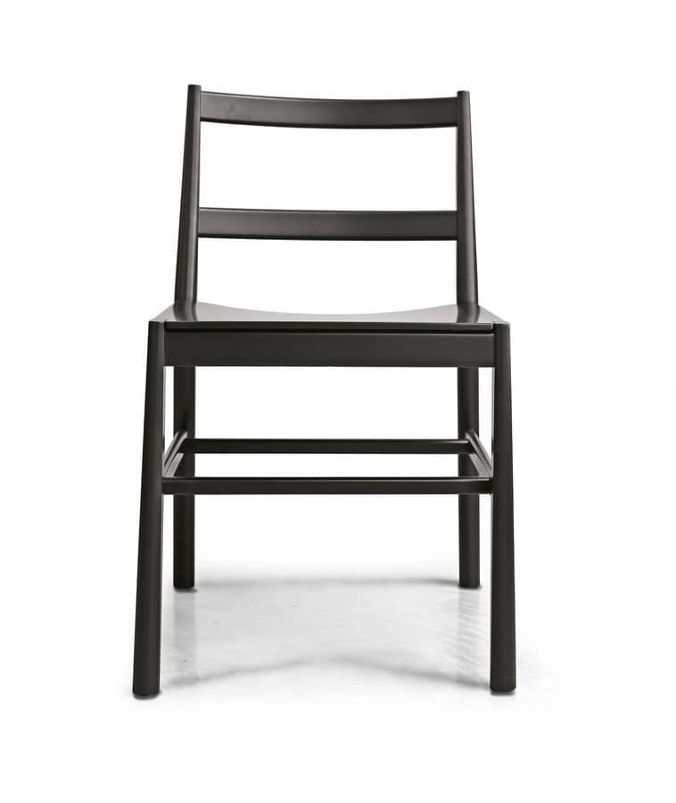 Minimal Design Stuhl Aus Buchenholz Idfdesign
