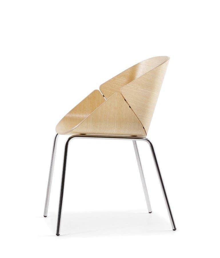 hohe metallst hle m belideen. Black Bedroom Furniture Sets. Home Design Ideas