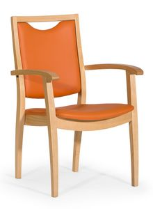 Salus ARMS, Gepolsterter Stuhl für Erholungsheime