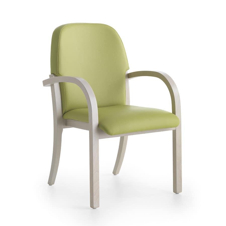 Silver Age 12, Ergonomischer Stuhl mit fröhlichen Farben und angenehmen Formen