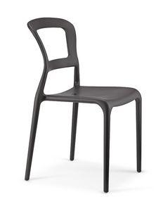 2063, Outdoor-Stuhl, aus Glasfaser und Technopolymer