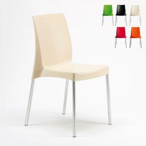 barstuhl in polyrattan stapelbar f r den au enbereich idfdesign. Black Bedroom Furniture Sets. Home Design Ideas