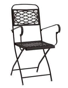 Isa/P, Klappstuhl aus Stahl, verschiedene Farben, für Garten