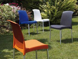 Jane, Stuhl für Outdoor-Restaurants und Bars