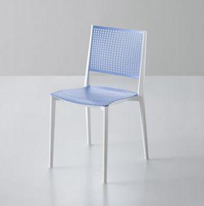 Kalipa, Stapelbarer Stuhl für Gärten