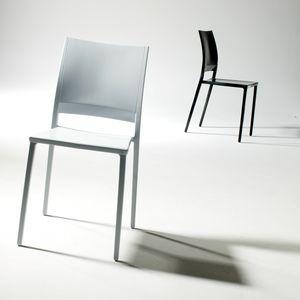 Magic, Entwerfen stapelbarer Stuhl, für den Außenbereich