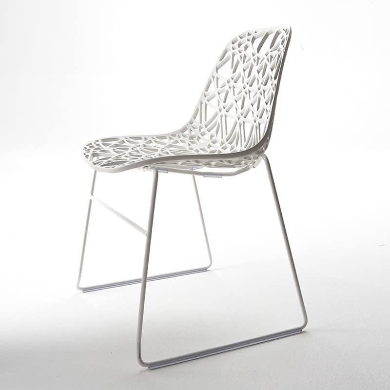 sitze st hle hoch design metall und kunststoff ohne armlehnen idfdesign. Black Bedroom Furniture Sets. Home Design Ideas