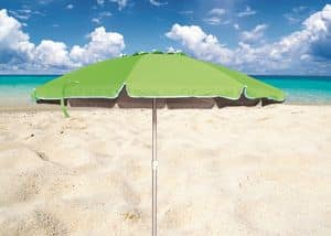 Meer Sonnenschirm Roma – RO220UVA, Sonnenschirm mit Aluminiumstruktur für Strände geeignet