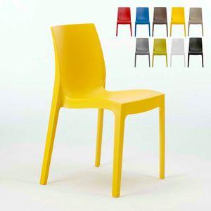 Stapelbarer Küchenbar Stuhl Rome – S6217, Plastikstuhl, wirtschaftlichen, für innen und außen