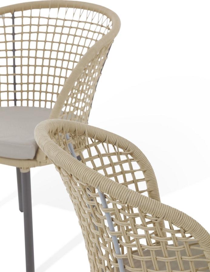 Shangri-La, Gartenstuhl aus Aluminium