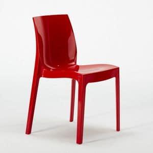 Transparentem Polycarbonat Stuhl Küche Bar Femme Fatale – S6317, Kunststoff Stuhl, stapelbar, wirtschaftlich
