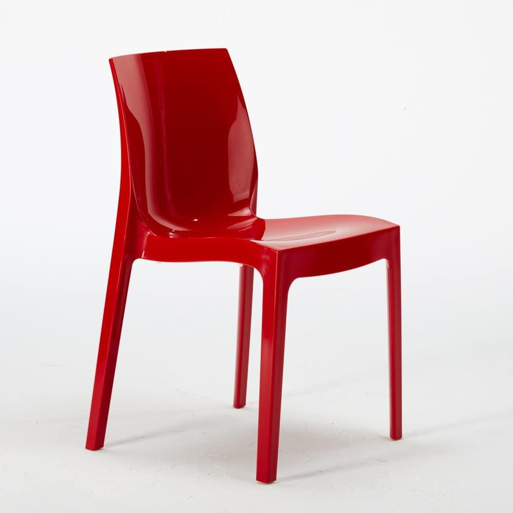 Kunststoff Stuhl, stapelbar, wirtschaftlich | IDFdesign