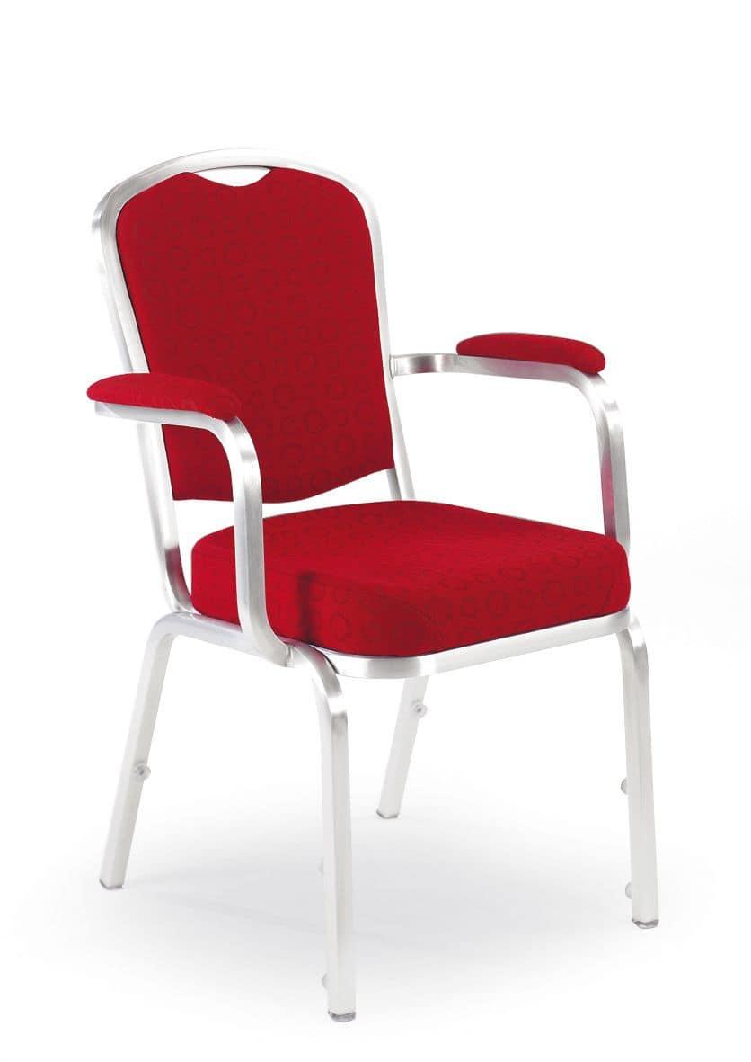 stuhl mit armlehnen bankett und konferenzeinrichtungen stapelbar idfdesign. Black Bedroom Furniture Sets. Home Design Ideas