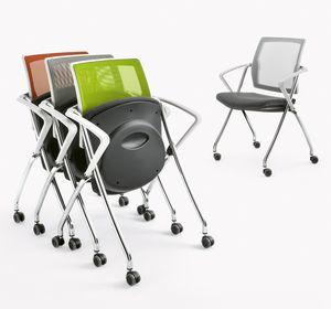 Q-Go XL RETE, Stuhl horizontal oder vertikal stapelbar