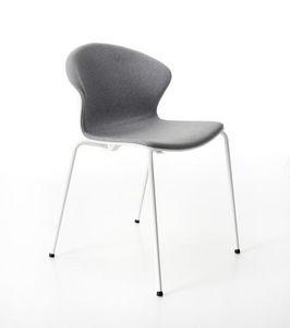 Red Hot 4 Beine gepolstert, Bequemer und eleganter gepolsterter Stuhl für Konferenz
