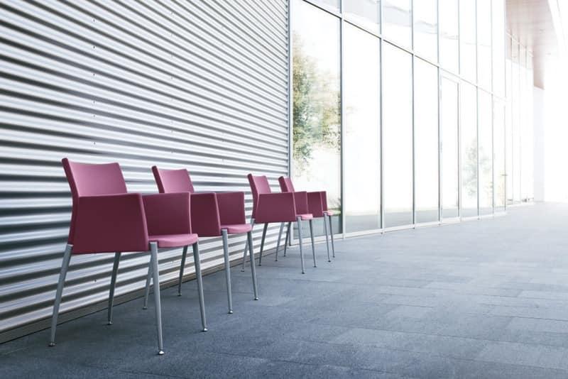 Kalla, Stuhl mit Armlehnen, zur Kongresshalle