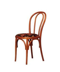 103, Stuhl aus gebogenem Buchenholz, für Restaurants