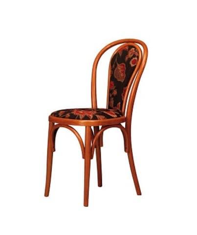105, Gebogene Buche Stuhl, gepolstert, für Bar und zu Hause