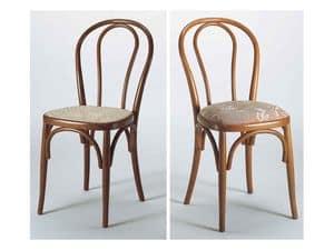 129, Stuhl mit gebogenen Holzrücken, verschiedenen Ausführungen