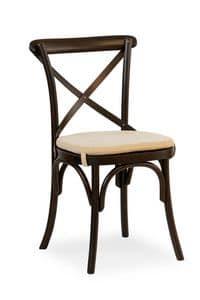 Ciao Pill, Stuhl aus Massivholz, verschiedene Beschichtungen