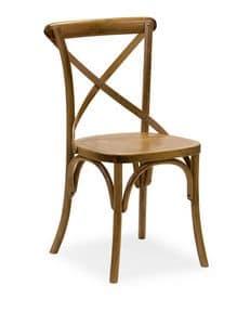 Ciao SL, Stuhl aus Massiv gebogene Holz