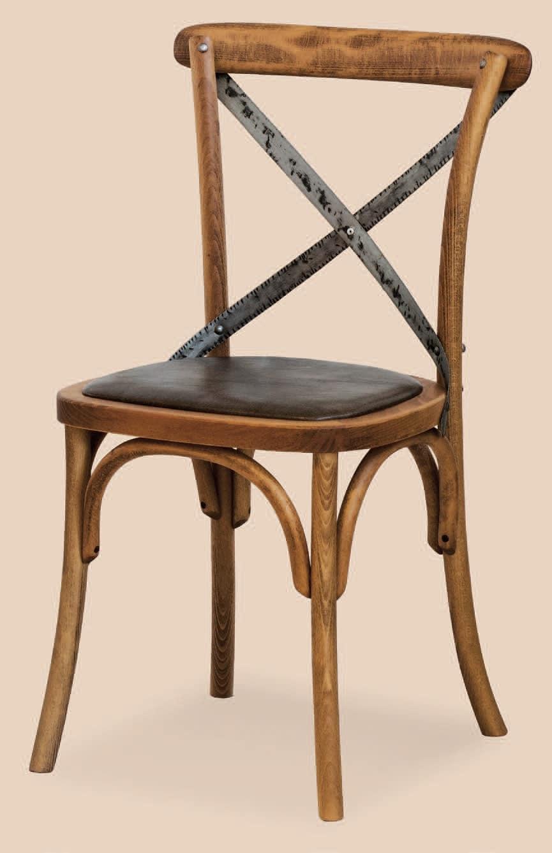 SE 431 / M, Stuhl mit gepolstertem Sitz, in gebogenem Holz