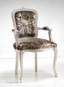 Art. 19905, Stuhl im klassischen Stil mit Armlehnen