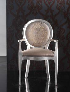 Art. 19927, Stuhl im klassischen Stil mit Armlehnen