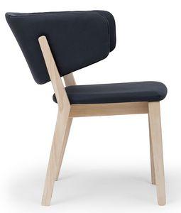 Carmen ARMS, Stuhl mit Armlehnen in der Rückenlehne integriert