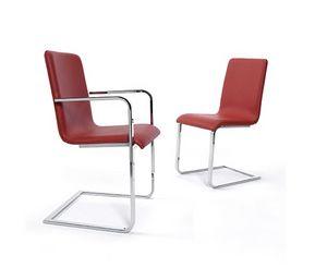 CG 77660, Stuhl mit Armlehnen, gepolsterter Sitz und Rückenlehne