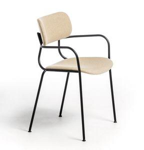 Kiyumi Fabric AR, Vielseitiger Stuhl mit Armlehnen