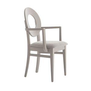 MP47UP, Stuhl mit runder Rückenlehne mit zentralem Loch