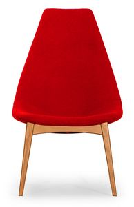 Simo high, Stuhl mit schlankem Design
