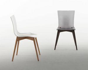 ARIA WOOD, Stuhl von außergewöhnlicher Haltbarkeit und Komfort