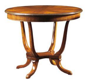 Achille FA.0112, Runder Tisch im englischen Stil