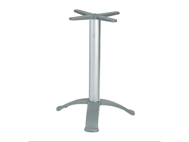 3 ped base cod. BG3K, Tischgestell mit 3 Füßen aus Aluminium